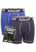 EnduraFit Bamboo Boxer Briefs - 2 Plus 1