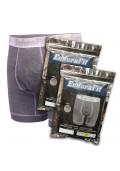 EnduraFit Cotton Boxer Brief - 3 Pack - Heather Gray