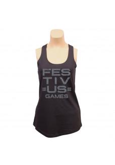 Festivus Games Racerback Tank - Black