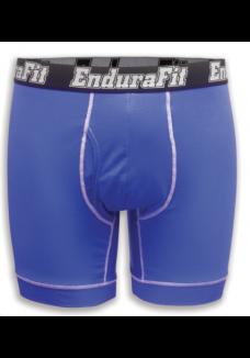 "EnduraFit 7"" Bamboo Boxer Briefs  - Onyx Black"